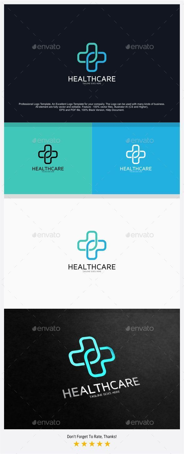 Healthcare / Hospital Logo Template Vector EPS, AI. Download here: http://graphicriver.net/item/healthcare-hospital-logo/12835471?ref=ksioks