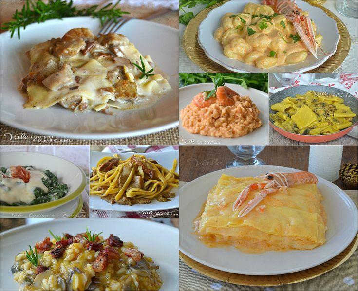 Primi piatti per il cenone di Capodanno facili e veloci, lasagne,pasta,risotti, gnocchi, una vasta scelta di primi piatti facili e gustosi.