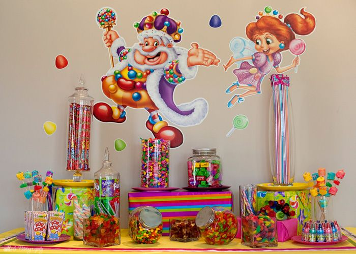 17 Best Images About Candyland Birthday Party Ideas On Pinterest Candy Bars Candy Land Party