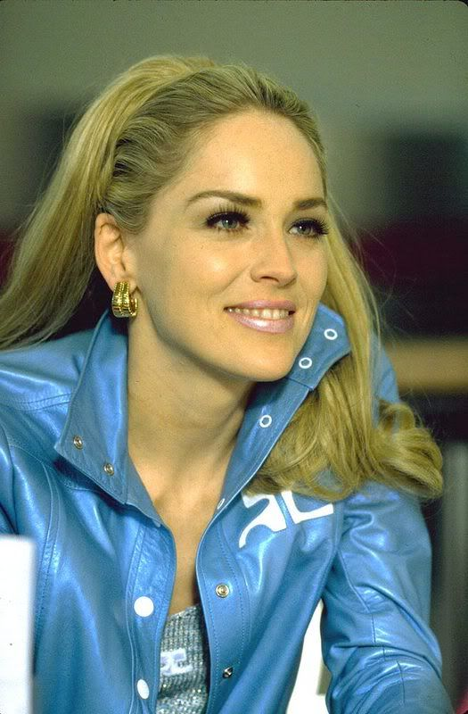 EVGENIA GL WHAT A BEAUTY IN COURREGES AMAZING,,,Sharon Stone ~  Casino, 1995