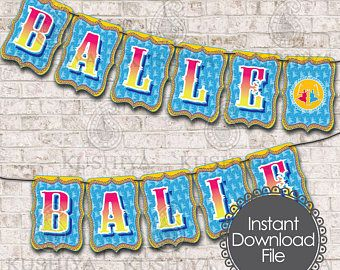 Desi Style Bunting Flags - Indian Themed, Banners, Balle Balle, Bhangra, Celebrations, Instant Download, Printable, Print your own, PDF File