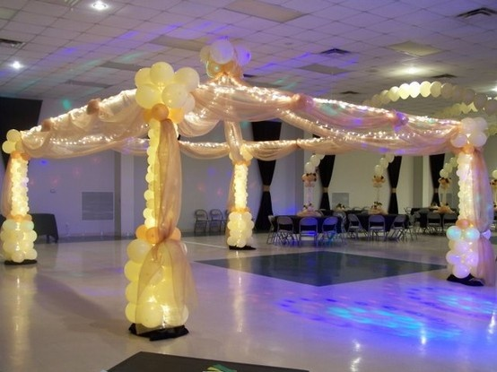 78 images about dance floor canopies on pinterest dance for Balloon dance floor decoration