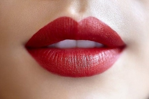 Nothing is more seductive as beautiful red lips