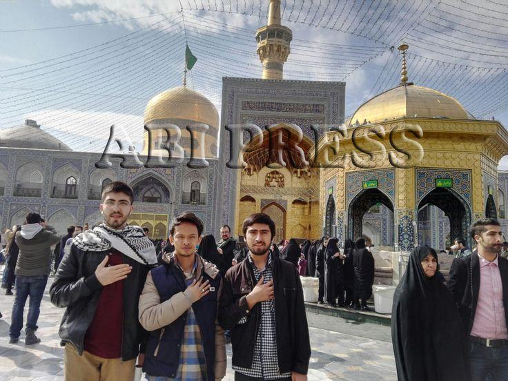 """Catatan Perjalanan Dan Ungkapan Cinta Peziarah Makam Imam Ridha  """"Ya Allah, terima kasih Engkau telah memberikan kami taufik untuk berziarah kepada maulaku,"""" http://bit.ly/21yVK9n"""