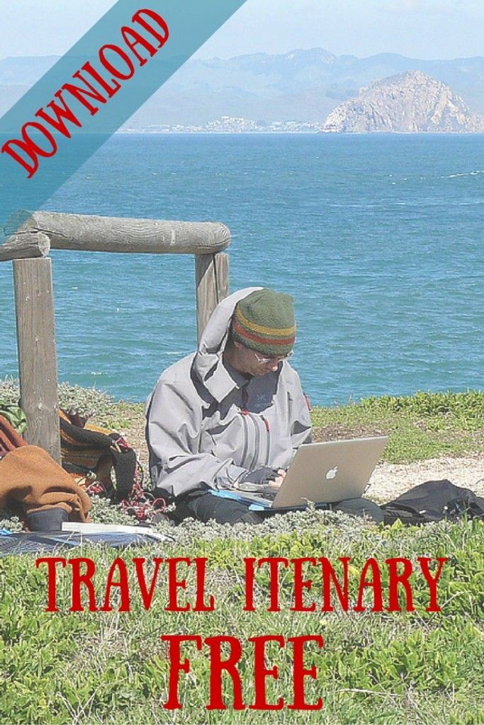 25 best ideas about travel itinerary template on