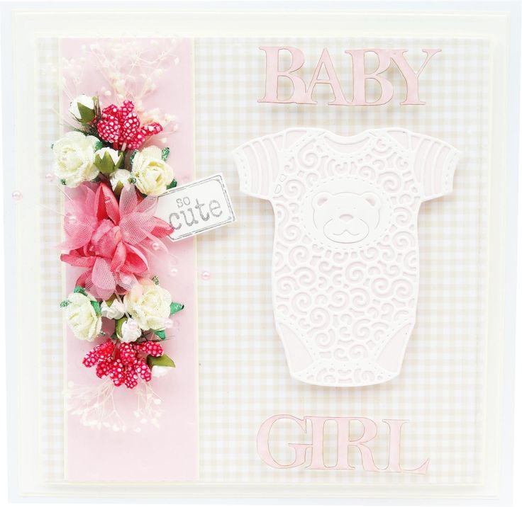 Baby Girl Card Making Ideas Part - 28: Featuring The Baby Grow Die (D561) And Baby, Boy U0026 Girl Classic Die · Baby  Girl CardsTattered ...