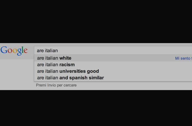 """Abbiamo fatto una decina di ricerche, tutte molto interessanti, utilizzando soggetti come """"italian"""" e """"italy"""". Ecco il risultato…"""