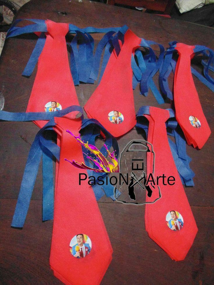 #Topa #juniorexpress #corbata #fiesta #cumpleaños #ideas