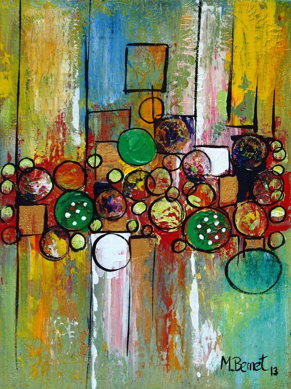 "Saatchi Online Artist: Maggie Bernet; Acrylic 2013 Painting ""Acceptance """