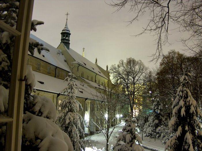 #Zima w Warszawie. #dominikanie #klasztor #warszawa #warsaw #freta