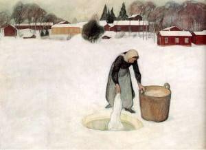 Avannolla by Pekka Halonen, 1900