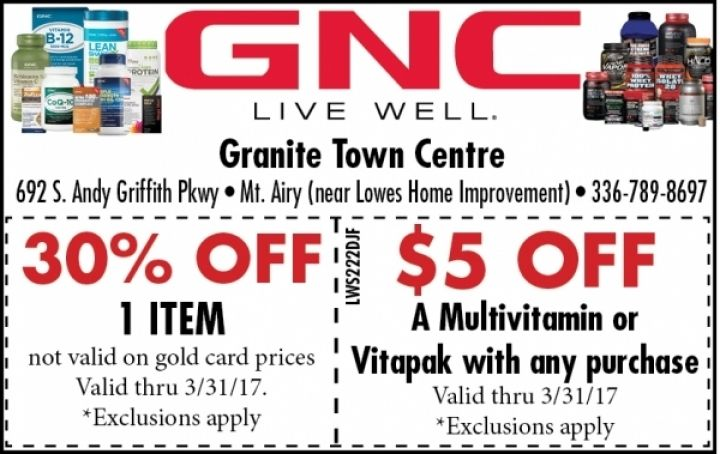 graphic relating to Gnc Printable Coupons 10 Off 50 identify Gnc 30 off printable coupon : Discounts steals and problems