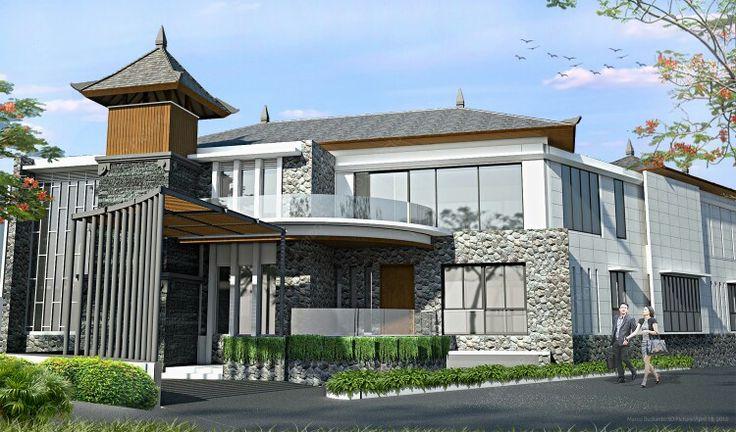 #architecture#villa#bali#goagong#sketchup#vray#photoshop