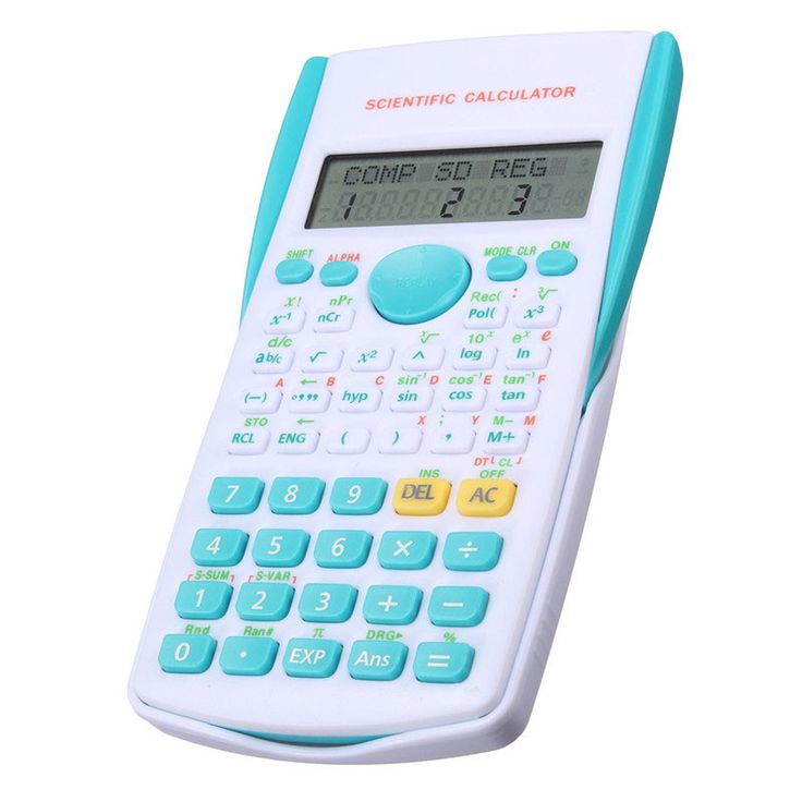 12 Digital Scientific Calculator 2 Line School Student Function Calculator Display Multifunctional Counter Calculating Machine. Click visit to buy #Calculator