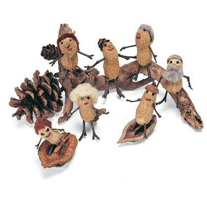 Peanut/groundnut crafts