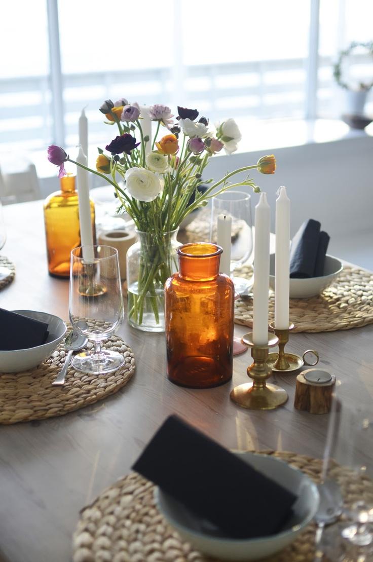 Photo by Hilde Hauge | Feien og Fjong: Fargerik borddekking