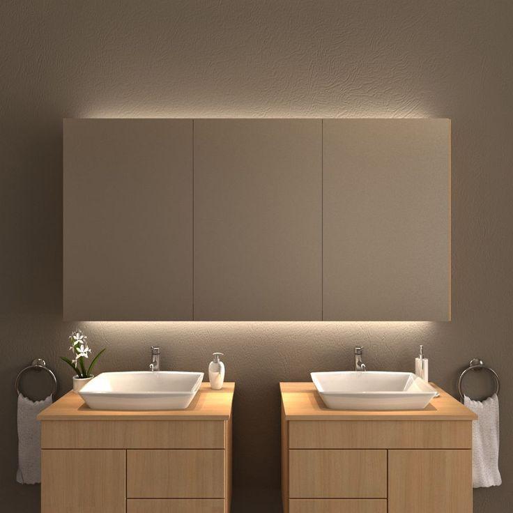 Spiegelschrank Mit Beleuchtung Fur Waschtisch Und Decke Ba Badezimmer Spiegelschrank Mit Beleuchtung Spiegelschrank Beleuchtung Badezimmer Spiegelschrank