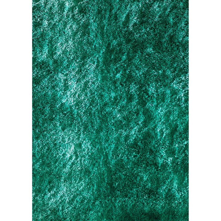 Wade Logan® Leah Hand-Knotted Teal Area Rug