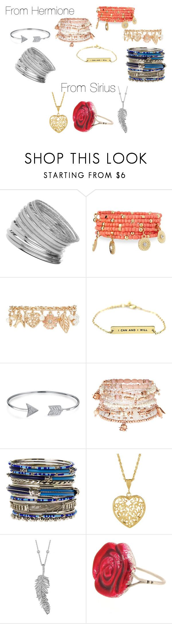 """Christmas Presents ~ Isabelle Black (First Year)"" by angel-mae-dreams ❤ liked on Polyvore featuring Miss Selfridge, Emily & Ashley, Forever 21, Bling Jewelry, Accessorize, Amrita Singh, Penny Preville and Sian Bostwick Jewellery"