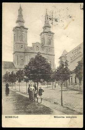 Miskolc Minorita templom | Képeslapok | Hungaricana