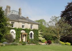 The Lynch Country House | United kingdom Somerset England. Peace, seclusion and privacy in abundance. An immaculate Regency house decorated in deep warm colours, superb hospitality, a lovely garden