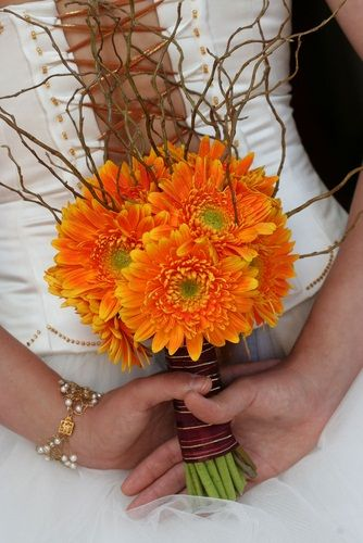 Image detail for -Gerbera Wedding Bouquet - Wedding Bouquets