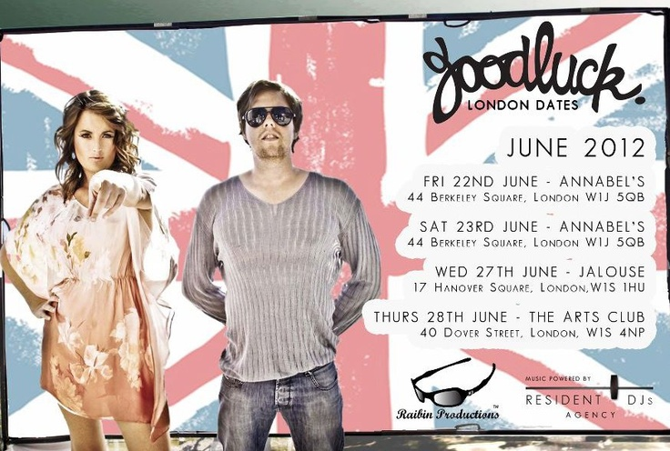 goodluck europe london dates union jack