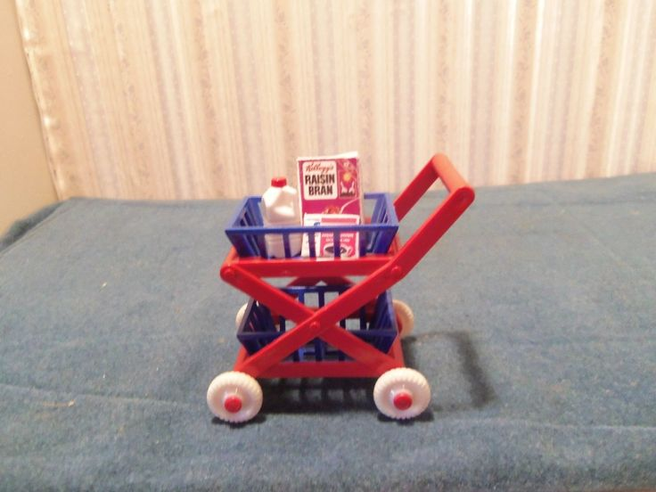 Ideal Shopping Cart Dollhouse Miniature | eBay