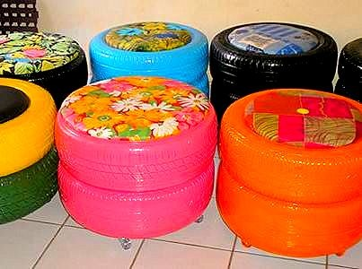 recycle, upcycle,  repurpose tires