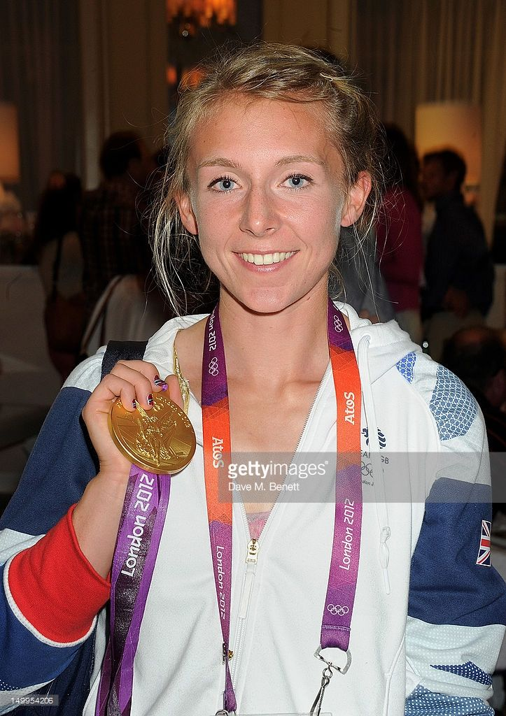 Katherine Copeland, Olympic rowing champion from Ashington.