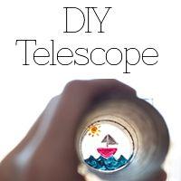 veilig leren lezen - kern 7  diy telescope
