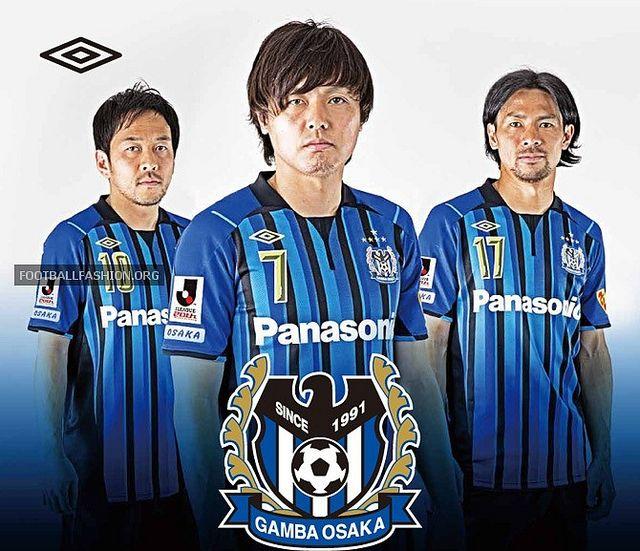 Gamba Osaka 2013 Umbro Home and Away Jerseys