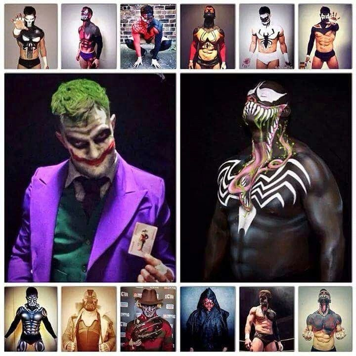 The many Paints of Finn Balor
