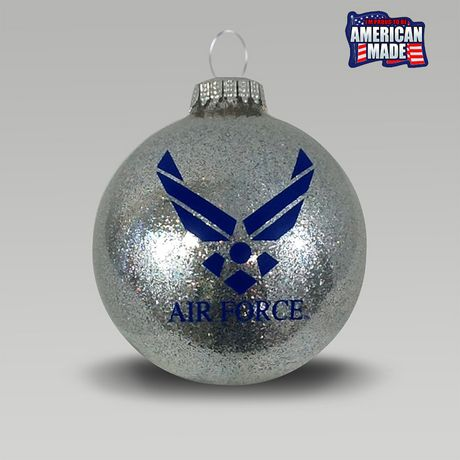 Air Force Wings Sparkle Ornament | ArmedForcesGear.com | Armed Forces Gear  | Christmas Crafts | Pinterest | Ornaments, Christmas Ornaments and  Christmas - Air Force Wings Sparkle Ornament ArmedForcesGear.com Armed