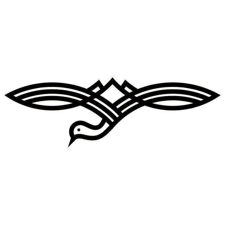 Assez Plus de 25 idées magnifiques dans la catégorie Crane logo sur  MO72