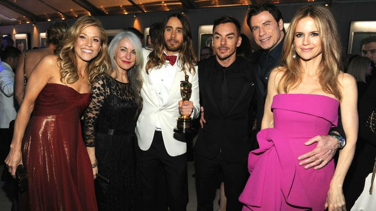 Sheryl Crow, Constance Leto, Jared Leto, Shannon Leto, John Travolta and Kelly Preston