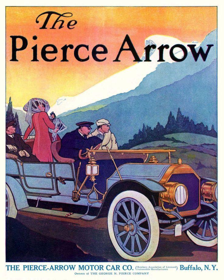81 best Classic Marques - Pierce-Arrow images on Pinterest | Arrow ...