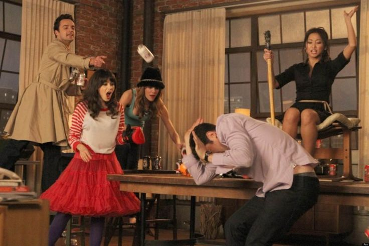 How to Play New Girl's True American Drinking Game