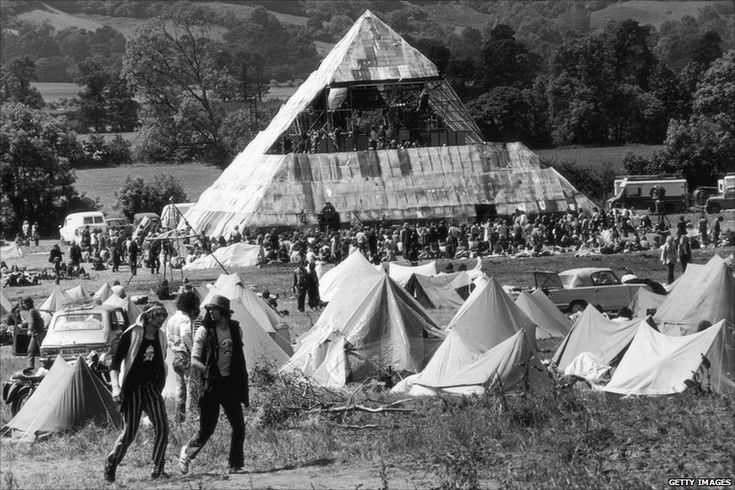 The Pyramid stage in '71