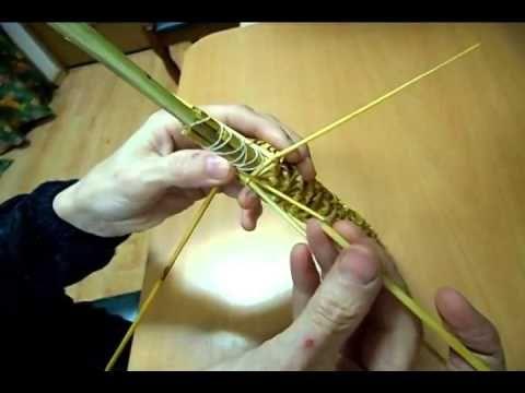 Мастер-класс. Спиральное плетение вокруг каркаса.( Из соломки, газетных трубочек, картонных полосок) | Страна Мастеров