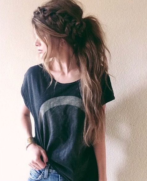 10 Lovely Ponytail Hair Ideas for Long Hair, Easy Doing Within 5 Minute -
