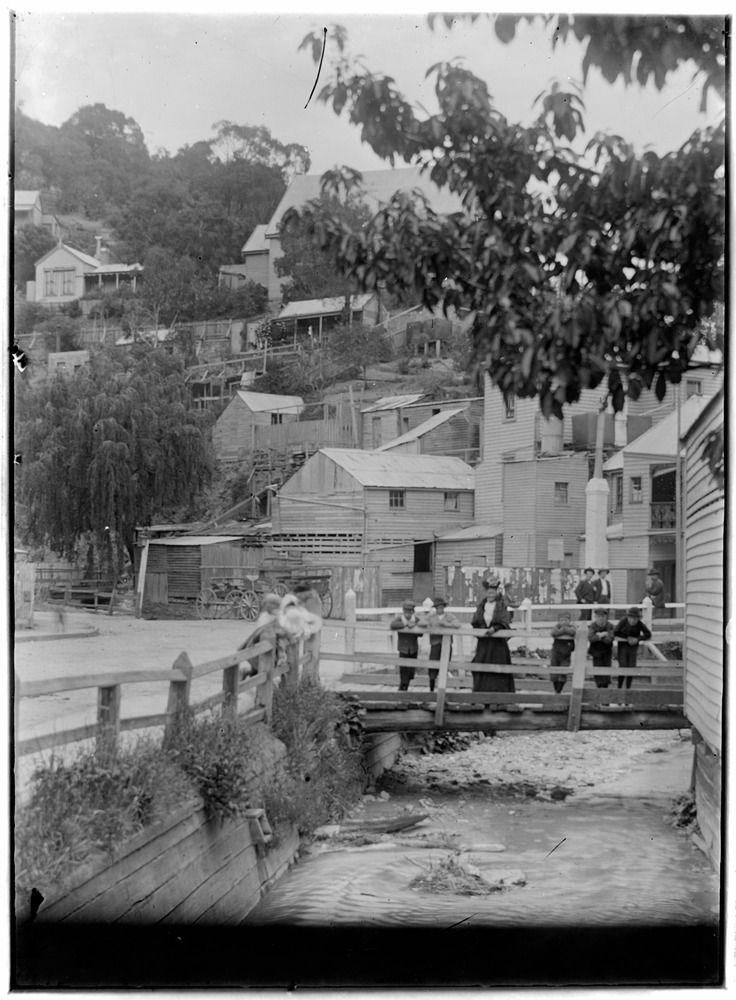 Town in hills, Walhalla, Victoria (2) Michael J Drew, photographer Circa 1900