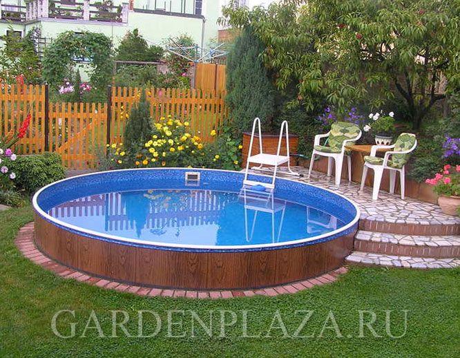 Каркасный бассейн для дачи Azuro 301 (круглый)