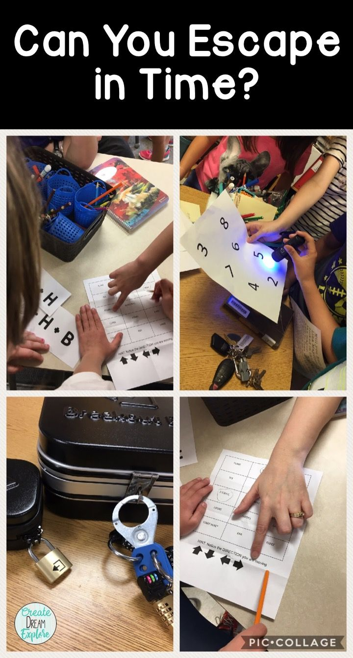 Use breakout box or escape room games in the classroom to increase engagement and build critical thinking and problem solving skills.