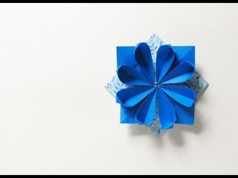 Origami: come fare fiore geometrico - Video Tutorial