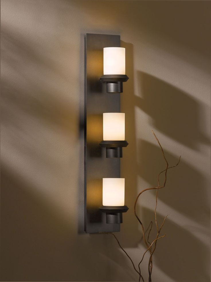 Staccato Vertical Wall Sconce By Hubbardton Forge   Modern   Wall Lighting    Lumens