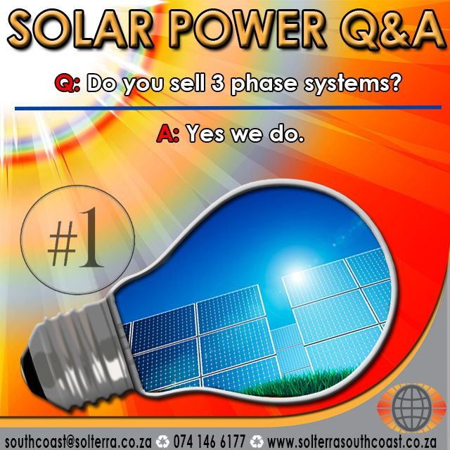 Most common #QandA about #SolarPower   #GoGreen #EnergyEfficient #KznSouthCoast #GottaLuvKZN #GoSolar
