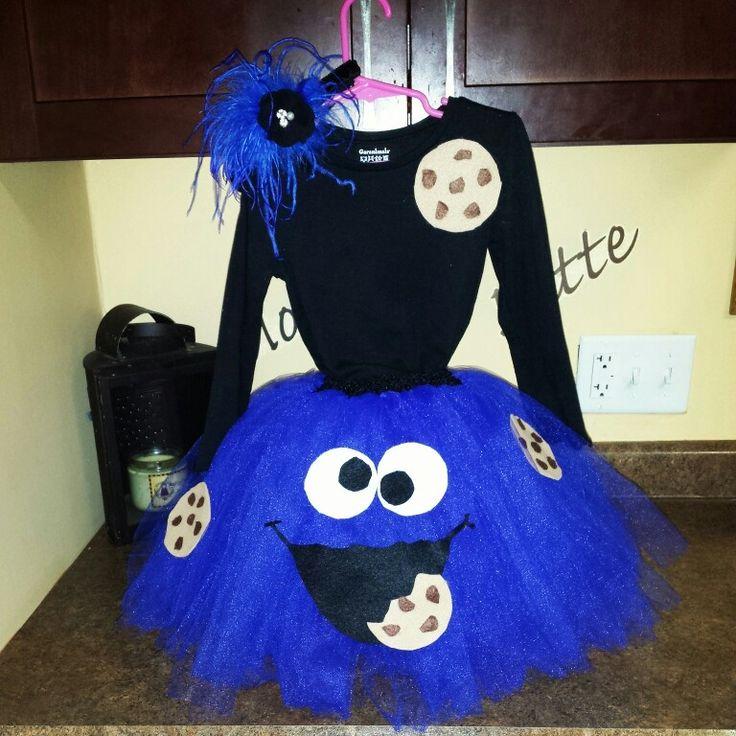 Cookie Monster DIY Costume