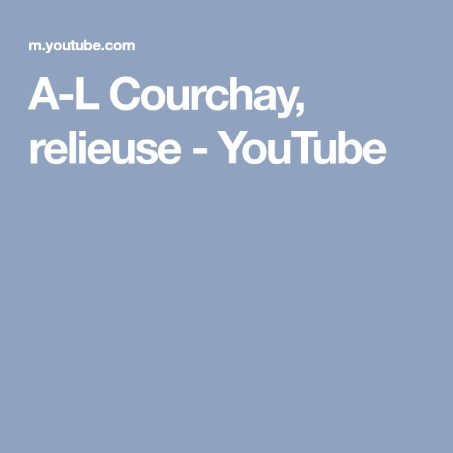 A-L Courchay, relieuse - YouTube