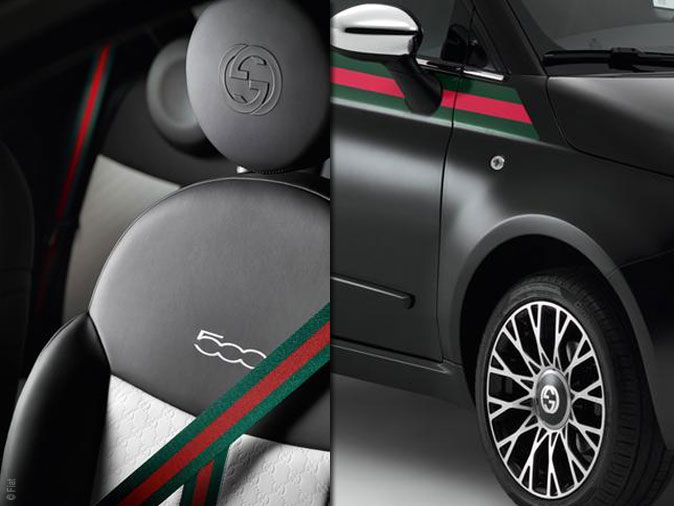 Fiat by Gucci. Bellissimo!